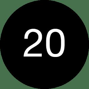 20 Black
