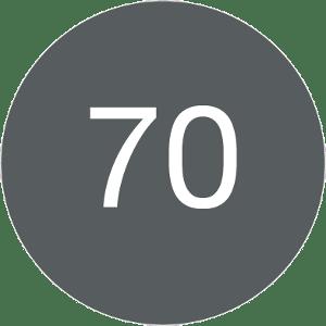 70 Dark Grey