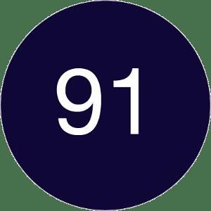 91 Dark Blue