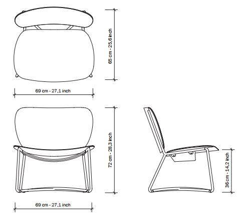 miller-fauteuil-serener-functionals-afmetingen